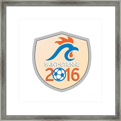 Saint Etienne 2016 Europe Championships  Framed Print by Aloysius Patrimonio