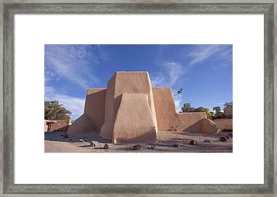 Saint Francis De Asis Los Ranchos De Taos Nm Framed Print by Bob Ayre