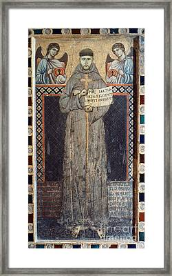 Saint Francis Of Assisi Framed Print by Granger