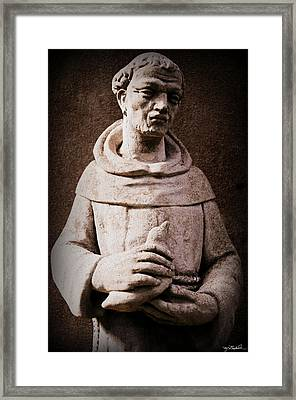 Saint Francis Of Assisi  Framed Print by Melissa Wyatt