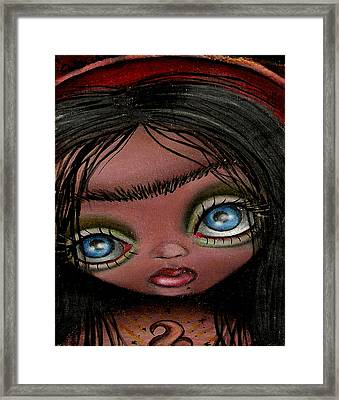 Saint Frida Framed Print by  Abril Andrade Griffith
