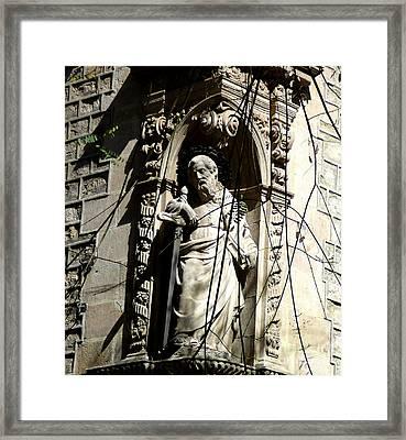 Saint Gardinan Framed Print