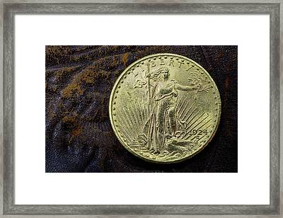 Saint Gaudens Gold Framed Print by JC Findley