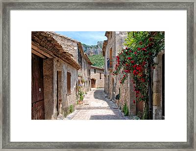 Saint-guilhem-le-desert Framed Print by Joachim G Pinkawa