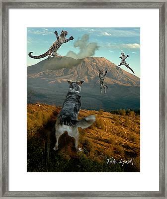 Saint Helens Cats Framed Print