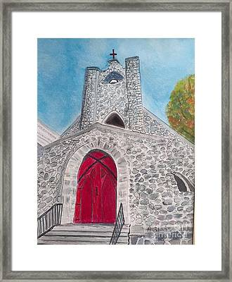 Saint James Episcopal Church Framed Print