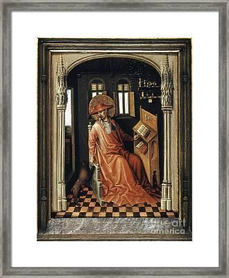 Saint Jerome (340-420) Framed Print by Granger