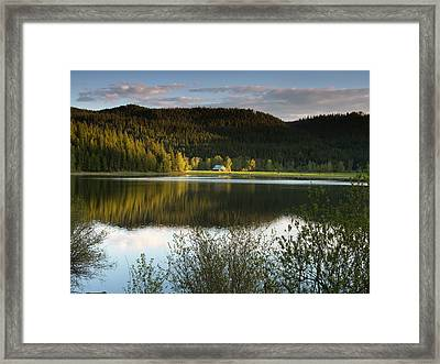 Saint Joe Barn Framed Print by Leland D Howard