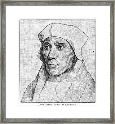 Saint John Fisher Framed Print by Granger
