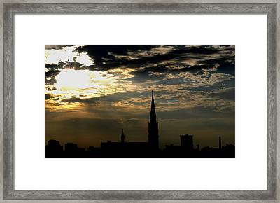Saint Johns Sunrise Framed Print