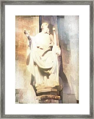 Saint-joseph - Notre Dame Framed Print