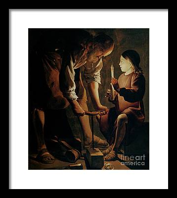 La Tour Framed Prints