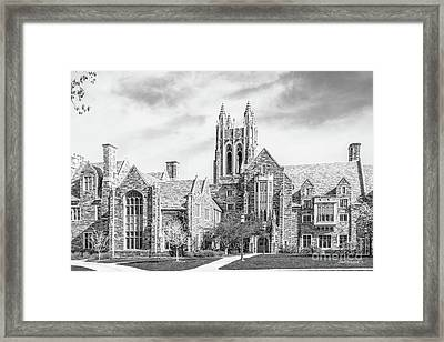 Saint Joseph's University Barbelin/ Lonergan Hall Framed Print by University Icons