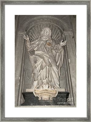 Saint Juliana Falconieri Framed Print