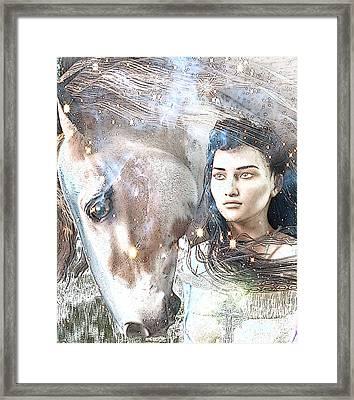 Saint Kateri Poster Framed Print by Suzanne Silvir
