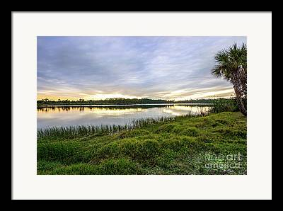 St. Lucie County Framed Prints