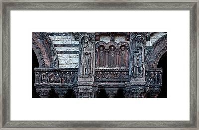 Saint Luke And Saint John Framed Print