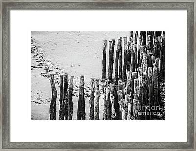 Saint Malo Framed Print by Delphimages Photo Creations