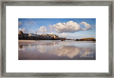Saint-malo In Early Morning Framed Print by Colin and Linda McKie