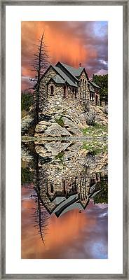 Framed Print featuring the photograph Saint Malo Panorama by Shane Bechler
