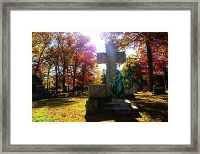 Saint Mary Framed Print