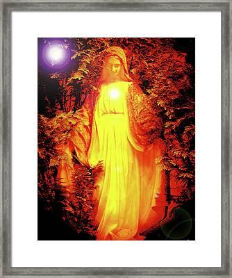 Saint Mary No. 01 Framed Print by Ramon Labusch