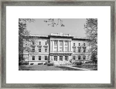 Saint Mary Of The Woods Guerin Hall Framed Print
