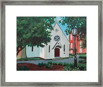 Saint Mary's Chapel Framed Print by Tommy Midyette