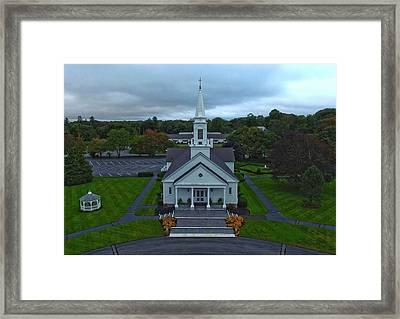 Saint Mary's Church From Above Framed Print