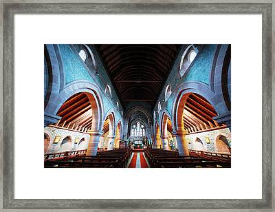 Saint Marys Church Interior Framed Print