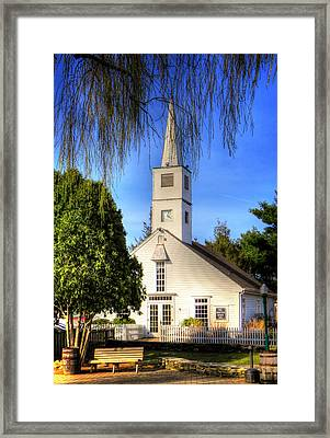 Saint Mathais Angelican Church Framed Print