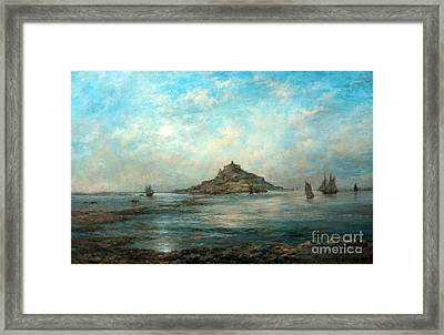 Saint Michaels Mount Framed Print