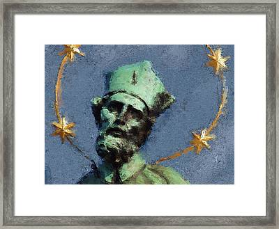 Saint Nepomuk Framed Print by Shawn Wallwork