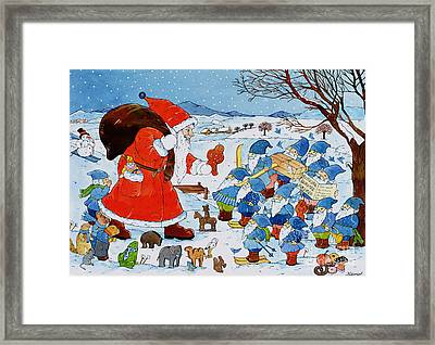 Saint Nicholas Framed Print by Christian Kaempf