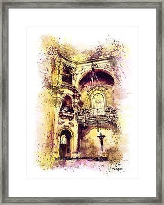 Saint Nicholas Church Prague  Framed Print