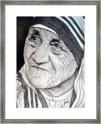 Mother Teresa Saint Of Calcutta  Framed Print