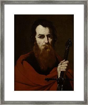Saint Paul  Framed Print by Jusepe de Ribera