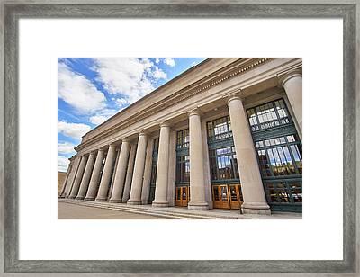 Saint Paul Union Depot Framed Print