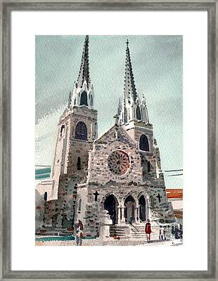 Saint Paul's Cathedral Framed Print by Donald Maier
