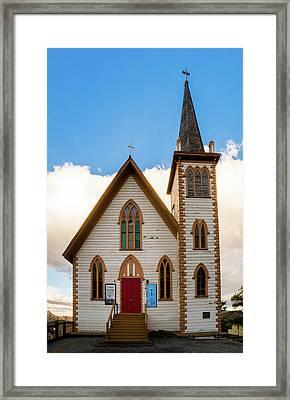 Saint Paul's Episcopal Church Verginia City Nevada Framed Print