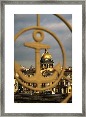 Saint Petersburg Framed Print