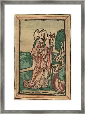 Saint Poppo Framed Print