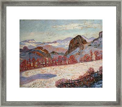 Saint Sauves D'auvergne Framed Print by Jean Baptiste Armand Guillaumin