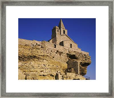 Saint Sauveur Church, Fos-sur-mer Framed Print by Panoramic Images