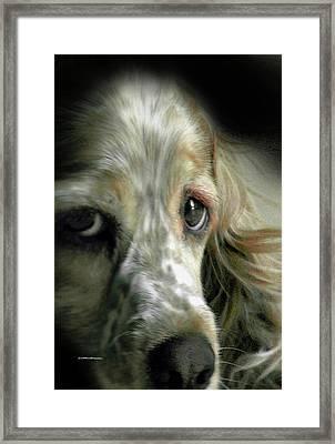 Saint Shaggy Art 9 Framed Print