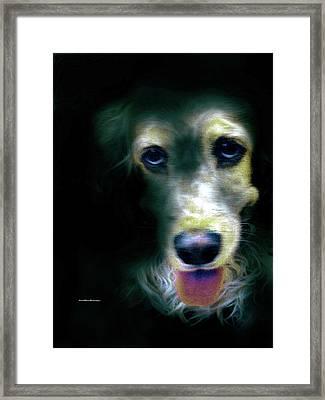 Saint Shaggy Art 14 Framed Print