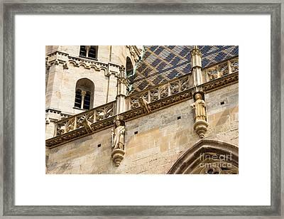 Saint Stephens Facade Three Framed Print