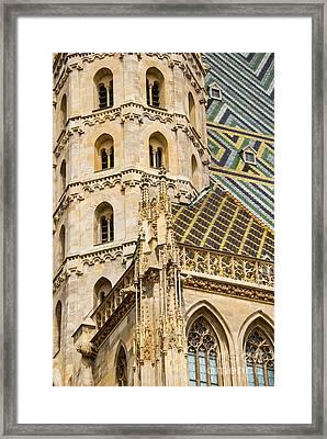 Saint Stephens Facade Two  Framed Print