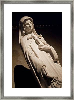 Saint Therese Framed Print by Joe Houghton