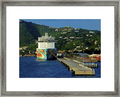 Saint Thomas Getaway Framed Print